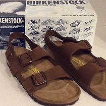 Birkenstock 36 Brown Milano Sandal Made in Germany Sz 5.5 6 New Photo