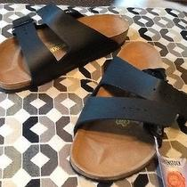 Birkenstock Arizona Mules Black Flat Size 39 Nwt - Never Worn Photo