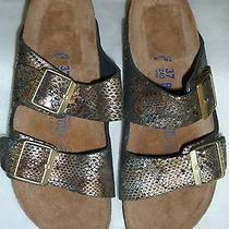 Birkenstock Arizona Sandal Python Bronze 7 Euro 38 Photo