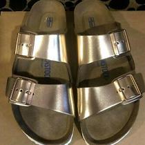 Birkenstock Arizona Soft Footbed Rose Gold Sandals Size 39 Brand New Photo