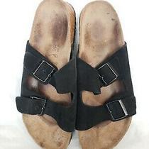 Birkenstock  Betula Arizona Black Suede Sandals Mens Size Us 10 Eu 43 Photo
