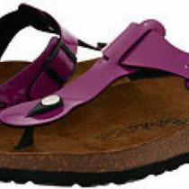 Birkenstock Betula Rap Sandals Sz 6 Eur 37 Purple New Photo