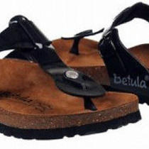 Birkenstock Betula Rap Sandals Sz 9 Eur 40 Black New Photo