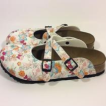 Birkenstock Birki's Disney Tinker Bell Slip on Sandals Clogs Size 38 Us 7/7.5 Photo