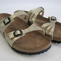 Birkenstock Birki's Moorea Soft Foot Bed Sandal Sz 40 Women's 9 Men's 7 - Narrow Photo