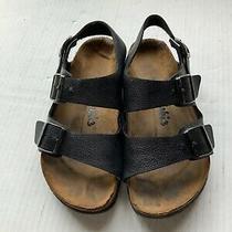 Birkenstock Birkis Milano Single Sandals Black Size 40  L9 M7 Photo
