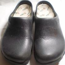 Birkenstock Black  Birki's Garden - Kitchen Clog Size 40 L9 - M7 Photo