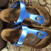 Birkenstock Blue Sandals  Photo
