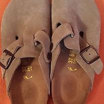 Birkenstock Boston Suede Size 37 Photo