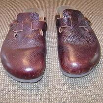 Birkenstock Brown Leather Closed Toe Sandals...size 36 (U.s. 6)..euc Photo