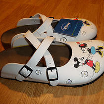 Birkenstock Dorian Minnie Mickey Disney Clogs Euro 41 N Women's 10 New Rtl 100 Photo