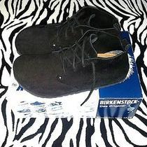 Birkenstock Dundee Black Suede Ankle Boots Sz 39(m6-7/w8-9) Worn Twice W/box Photo