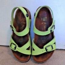 Birkenstock Girls Lime Green Sandals Size 12 Photo