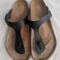 Birkenstock Gizeh Bs Black - Women's Eu Size 40 Us Size 9 Birko Flor Photo