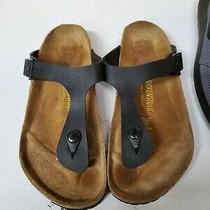 Birkenstock Gizeh Flip Flop Sandals for Women Size 9 - Black Photo