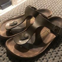 Birkenstock Gizeh Flip Flop Sandals for Women Size Us 7-7.5 Eu 38- Brown Photo
