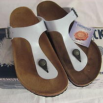 Birkenstock Gizeh Graceful Pearl Baby Blue 845 641 Size 37 Photo