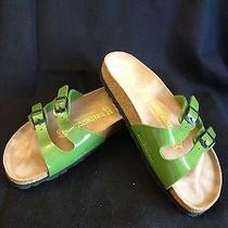 Birkenstock Green Sandals 37n -  New Without Box Photo