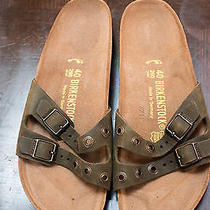 Birkenstock Green Sandals Photo