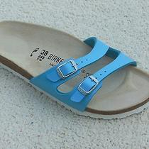 Birkenstock  Ibiza River Blue Sandals Women  Size 7n   Eu38   New Photo