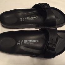 Birkenstock 'Madrid' Black Slide Sandals Size 37 Photo