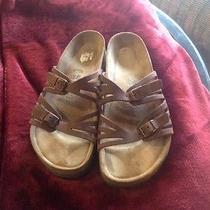 Birkenstock Mans Sandals 40  Brown Photo