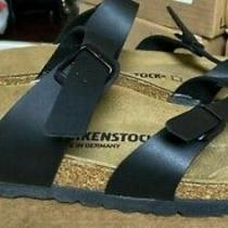 Birkenstock Mayari Sandals Black 41 10 Filled-in Footbed N M - Store Return 177 Photo