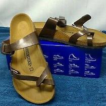 Birkenstock Mayari Sandals - Graceful Toffee - Reg Fit Size 10 us/7.5 Uk - Nwb Photo