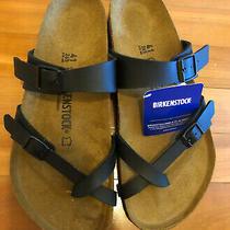 Birkenstock Mayari Women's Black Size 10 (41) New Without Box Photo