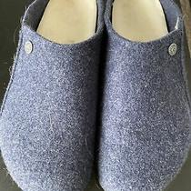 Birkenstock Mens Zermatt  Rivet Dark Blue Slippers Eur 44 Photo