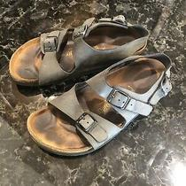 Birkenstock Milano Style Slate Gray Sandals -Size 39 Photo