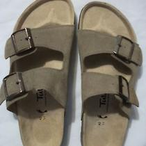 Birkenstock New Unisex Tula Sandals Tan Size 42/11 Photo