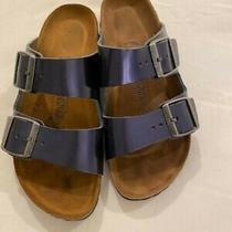 Birkenstock R Blue Sandal - Size 7 (37) Photo