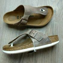 Birkenstock Ramses Sport Sole Tobacco Leather Sandals Eu 39 Womens 8-8.5 Gizeh Photo