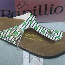Birkenstock's Papilllio Gizeh Green Clover  Sandals  Women  Size 8r   Eu39  New Photo