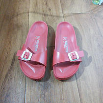 Birkenstock Size 36 Red Photo