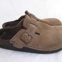 Birkenstock/tatami Wom-8/men-10 Used Comfort Leather Flats/shoes/mules/clogs Photo
