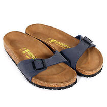 Birkenstock Women's Madrid Blue-Blue-3 Photo