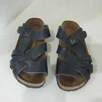 Birkenstock Womens Black Black Slide Sandals Size 36/5 M Photo