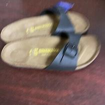 Birkenstock Womens Madrid Black Sandals Size 37 N  398  Photo