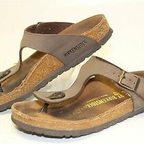 Birkenstock Womens Size 6 37 Gizeh Thong Flat Sandals Germany Made Shoes Photo