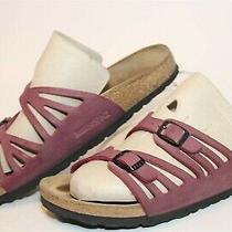 Birkenstock Womens Size 7 38 Granada Slide Sandals Germany Made Flat Shoes Photo
