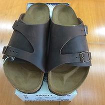 Birkenstock Zurich 250211 Size 42/l11m9 R Habana Oiled Leather  Sandals Photo