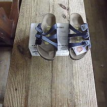 Birkenstocks Leather Medium Slides Photo