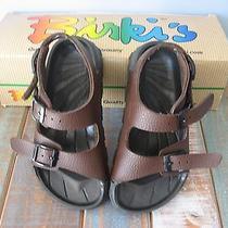 Birki's Aruba Brown Birkenstock Sandal  Size 11  29 Eu  Like New Photo