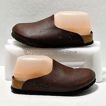 Birki's Birkinstock Shoes Size 5-5.5 Us/36 Eu Brown Leather Womens Slipper Mules Photo