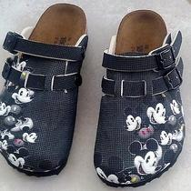 Birki's by Birkenstock Disney Mickey Mouse Sz 10 Youth Nib Photo