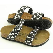 Birki's by Birkenstock Tahiti Cork Sandals Mickey Mouse Kids 26 Us 8.5 Photo