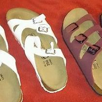 Birkies Both Pair for 110.00 These Are Brand New 1set Is Purple/burgandy  Other Photo