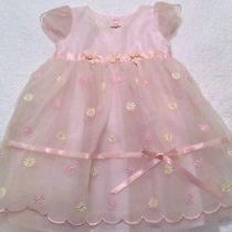 Biscotti Collection Sweet Pink Blush Dressy/church Occasion Dress Sz 24m Nwot Photo